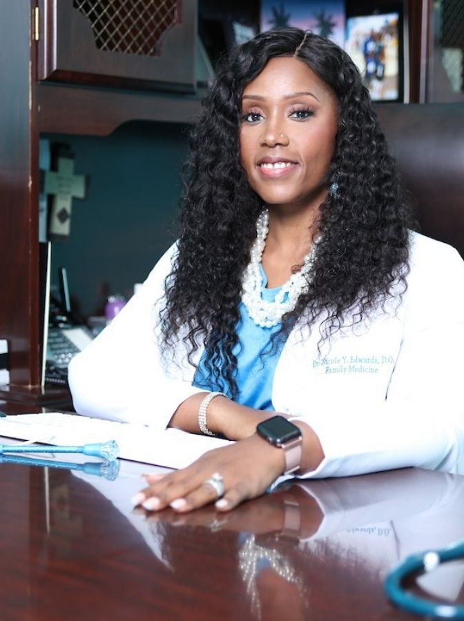 Dr. Nicole Y. Edwards, D.O. - Executive Client